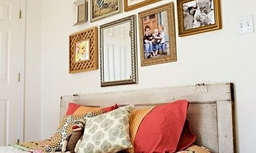 Wood Pallet Day Bed: Guest Room :)