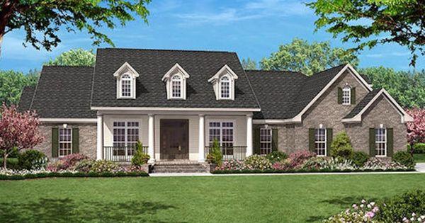 House Plan 430 35 Single Story Home