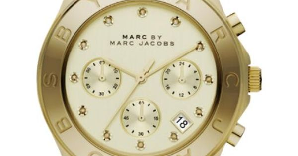 Marc by Marc Jacobs Blade in rose gold watch. A MUST HAVE!!