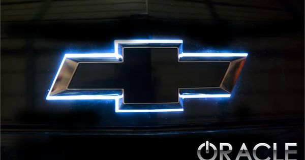 Chevy Illuminated Led Rear Bowtie The Color Shift