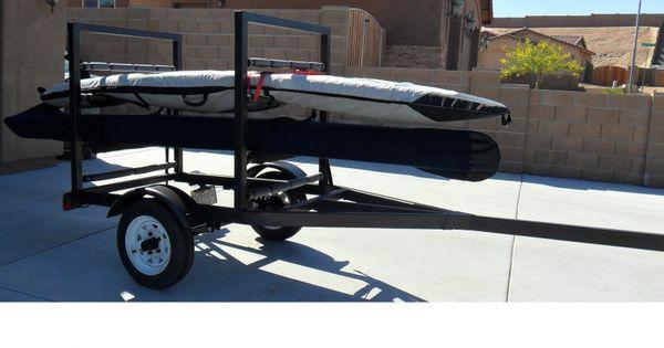 Stand Up Paddle Board Trailer Old Jet Ski Trailer