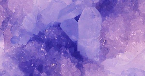 Crystal Purple Header Tumblr Purple Aesthetic Crystal Aesthetic