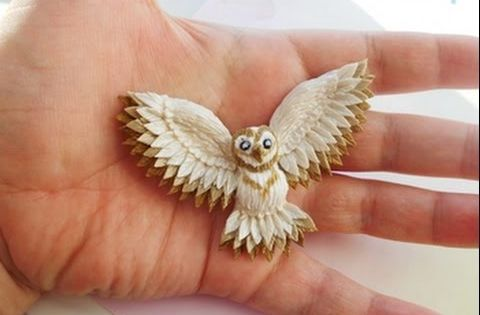 Brooch Quot Owl Quot From Polymer Clay Youtube Polymer Clay
