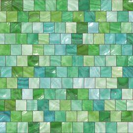 Pate De Verre Tuiles Vertes Carrelage Mosaique Carreaux Mosaique