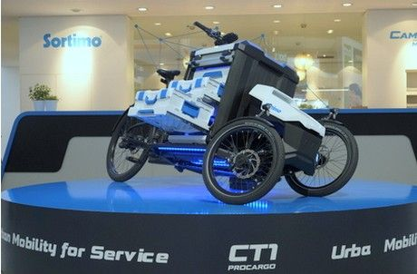 Sortimo A German Producer Of Company Vehicle Equipment Went Off The Beaten Track When Revealing An Electric Cargo Bike Fo Cargo Bike Electric Cargo Bike Bike