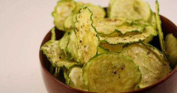 Zucchini Chips Low Carb