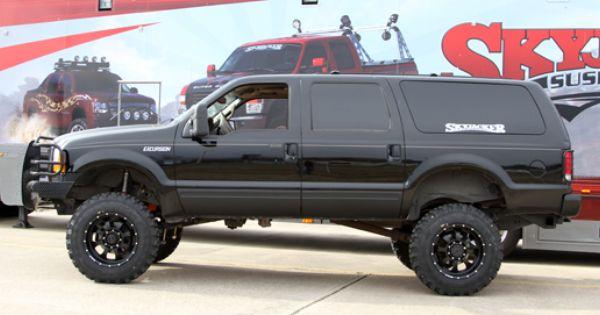 Skyjacker Ford Excursion Ford Suv Big Trucks