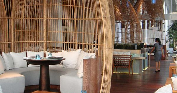 Bali w hotel chic restaurant in style travel and