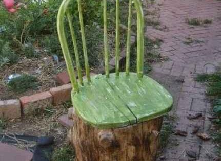 13 practical ways to repurpose tree stumps home ideas for Upcycled tree stumps