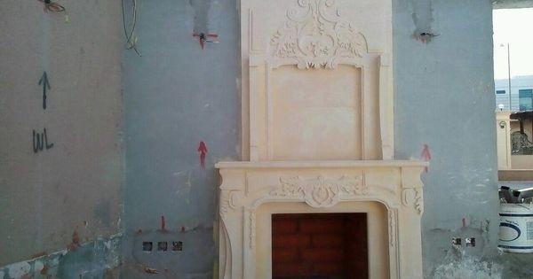 دفاية حجر Decor Fireplace Home Decor