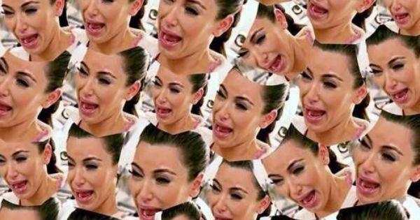 Kim k crying face wallpapers pinterest crying face - Kim kardashian crying collage ...