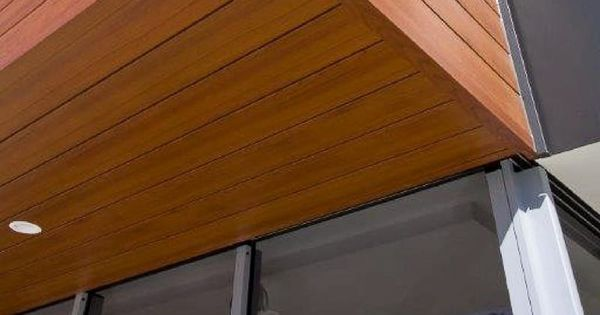 Aluminum Soffits That Look Like Wood Installation Wood House Plans