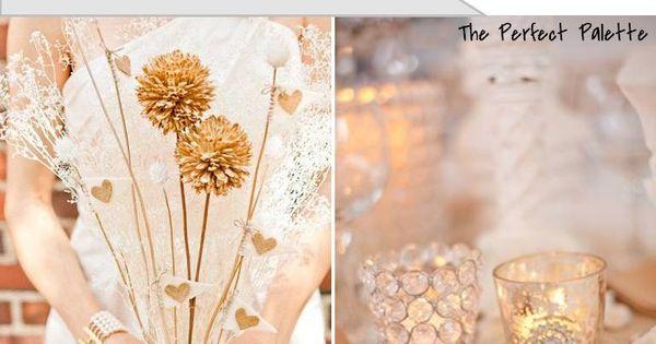 Rustic Glamour ☛ http://su.pr/2MtGeJ Wedding Palette :)