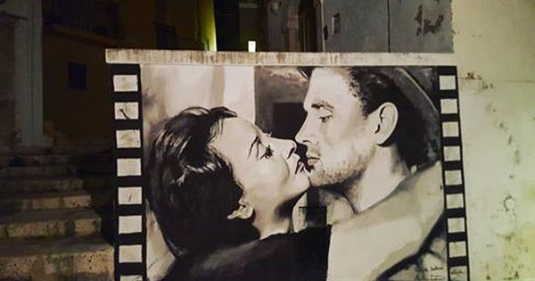 Rossanart martino tamburrano in castellaneta italy for Audrey hepburn mural los angeles