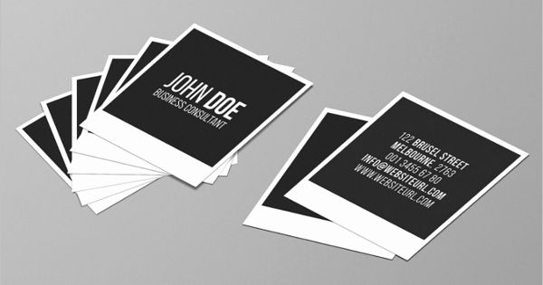 Square Business Card Template Free Elegant 53 Square Business Card Templates Fre Free Business Card Templates Photography Business Cards Business Card Template