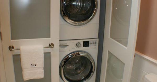 Laundry bathroom combo idea laundry room pinterest for Master closet laundry room combo