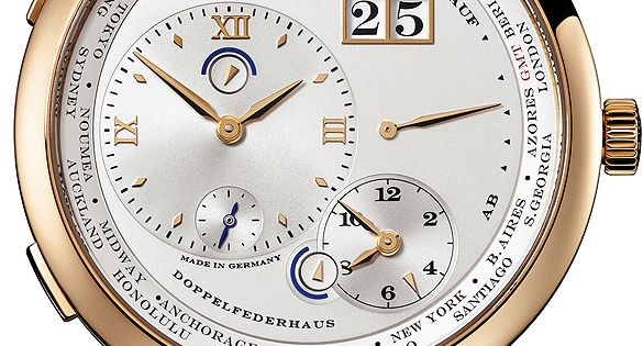 A lange sohne relojes de roberto pinterest reloj for Reloj piscina