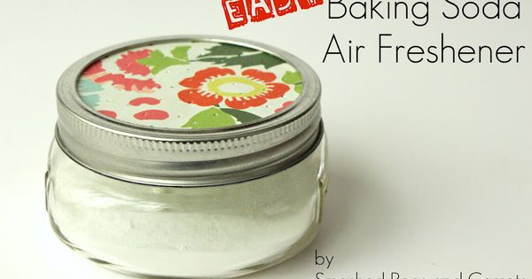 Easy natural non toxic air freshener tutorial make with for Baking soda essential oil air freshener