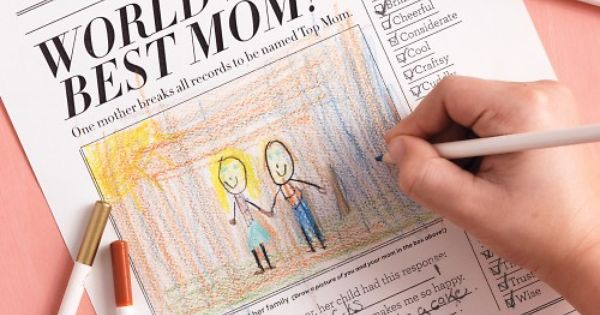 Mother's Day Newspaper | Kidoodles: Martha Stewart Shares 5 DIY Mother's Day
