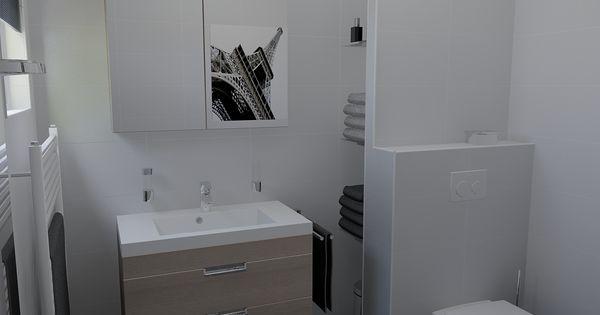 Badkamer waarbij het wandcloset met inbouwreservoir iets naar 39 voren 39 is geplaatst daardoor - Winkelruimte met een badkamer ...