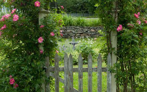 English garden gates floral pinterest rejas for Jardin in english
