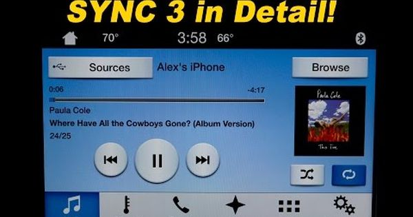Upgrade Today From Myford Touch Sync 2 To Sync 3 With Apple