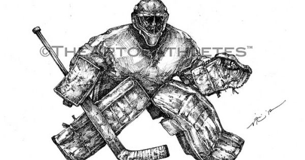 The Netminder Right Hockey Tattoo Hockey Drawing Hockey Goalie