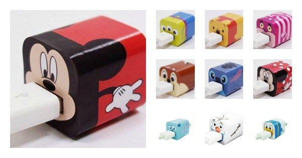 Charger Wrappers 600x315 Absolutely Adorable Disney Iphone