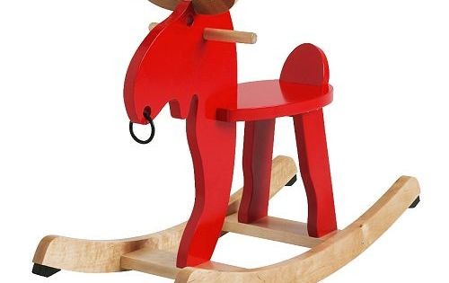 EKORRE Rocking moose IKEA Rocking horse.