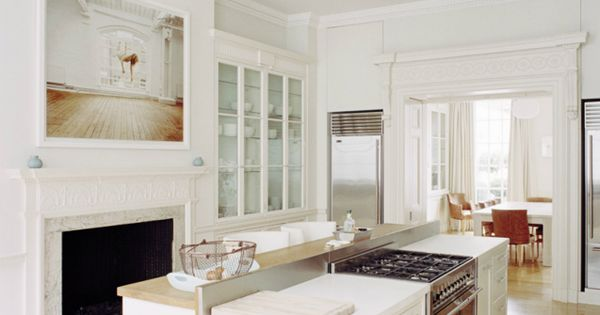 Rundell Associates kitchen | White kitchen in large victorian room