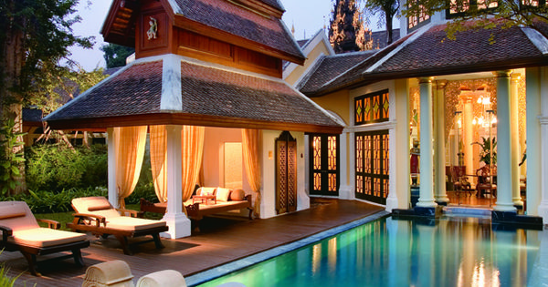 Dhara Dhevi in Chiang Mai / places travel abroad