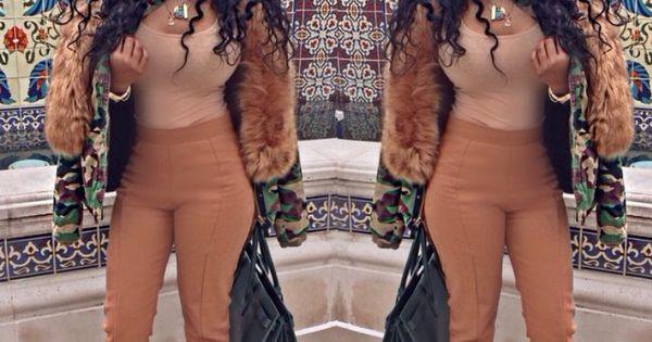 Ricki Brazil camel highwaist trousers