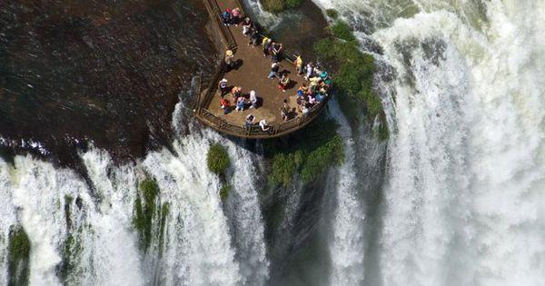 Iguazu Falls Argentina & Brazil Largest in South America