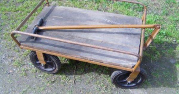 Handwagen Ddr Rollfix Trodel Handwagen Ebay