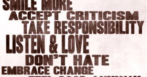Good words of wisdom