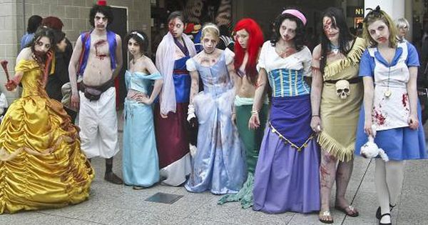 Zombie Disney Princesses!