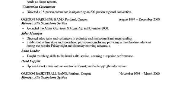 Sample Entry Level Resumes u2013 Resumeedge resume Pinterest - resume edge