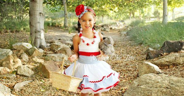 Dorothy Dress Up Apron Halloween Costume Adisten S Closet By Modern Chic Tots Pinterest
