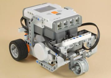 Nxt 3 Motor Chassis Lego Robot Lego Mindstorms Nxt Robot Design
