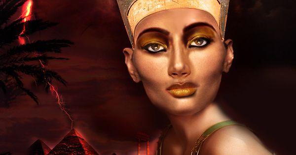 Nefertiti Art | nefertiti my love by mahmoudz digital art ...