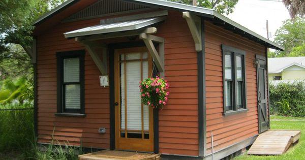 Backyard Cottage Prefab Design House Plan Affordable: Small Prefab Cottage / Tiny House Designs With Traditional