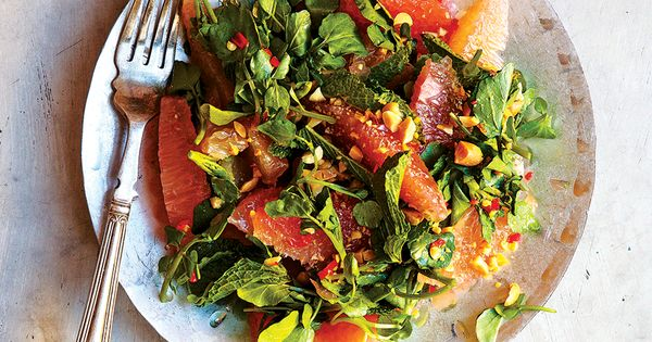 From SAVEUR Issue #163Sweet pomelo pairs beautifully with chiles, peanuts, and mint in this recipe for a classic Thai salad from Talde in Brooklyn, New York.