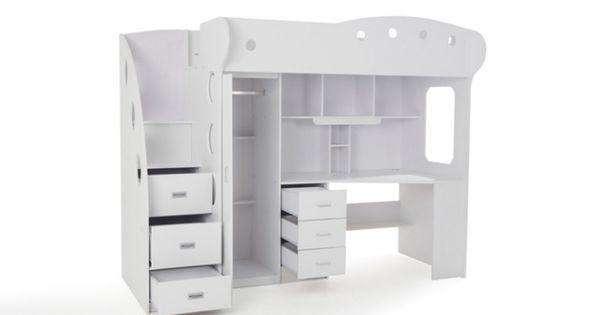 Lit mezzanine enfant original acheter pinterest small places mezzanine and room ideas - Lit mezzanine original ...