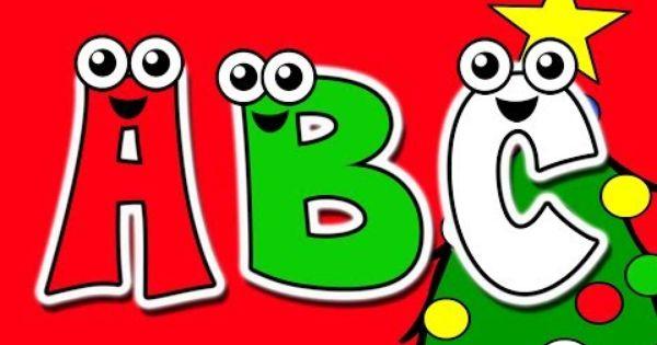 Christmas Abcs Busy Beavers At Christmas Time Kids Alphabet Nursery Song Nursery Songs Alphabet For Kids Alphabet Nursery