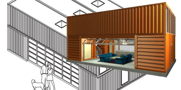 Build Flynn S Container Home From Tron Legacy Kinda Toolmonger Container House Container House Plans Building A Container Home Quik house floor plan
