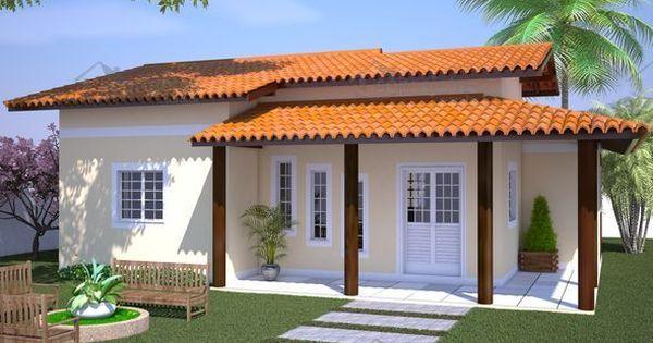 Modelos de casas para construir planta de casa casa com for Modelos de casa pequenas para construir