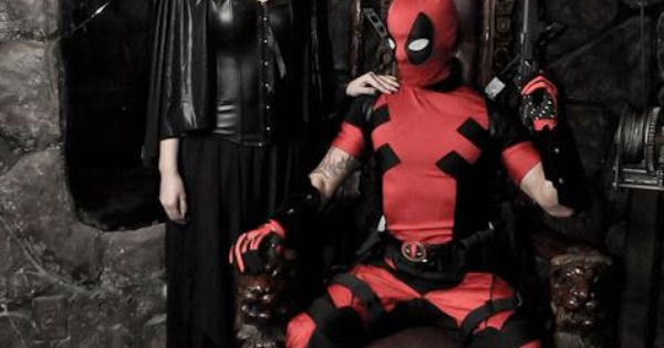 Characters: Lady Death & Deadpool (Wade Wilson) / From ...
