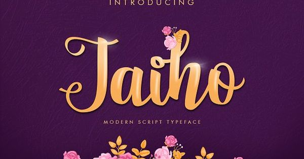 Jaiho Script (Duo Font) by khurasan