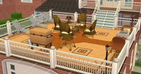 Extend The Deck Over The Garage For Extra Covered Parking Turn Sunroom Into Master Garage House Garage House Plans House Plans