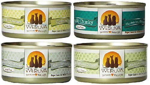 Weruva Chicken 3oz Variety Pack 24 Cans Total Want To Know More Click On The Image This Is An Affiliat Canned Cat Food Dog Food Recipes Wellness Cat Food